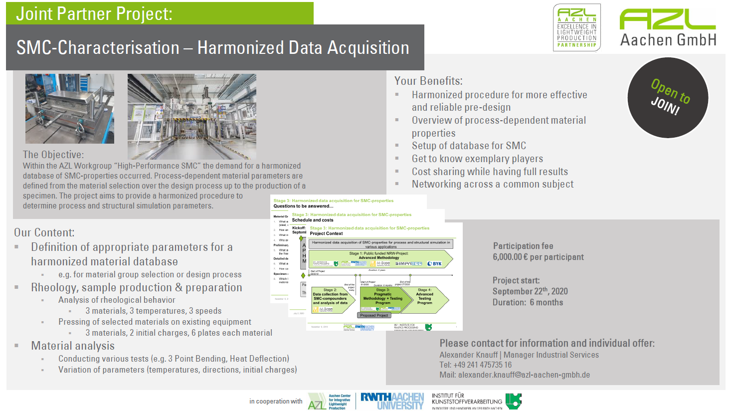SMC-Characterisation - Harmonized Data Acquisition