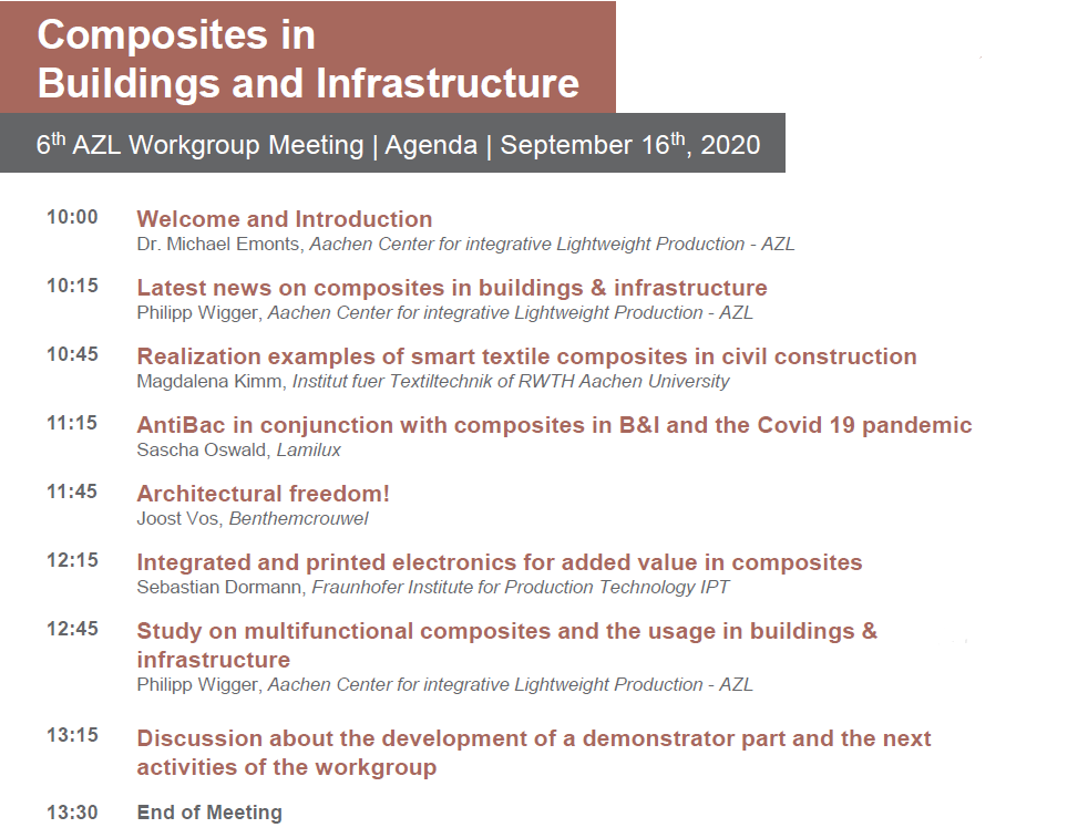 AZL Workgroup Meeeting Agenda