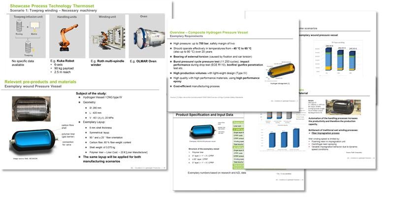 Composite Pressure Vessel Production
