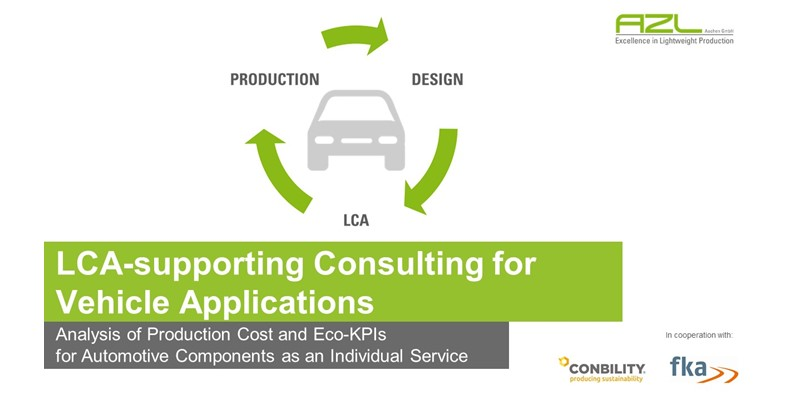 LCA-supporting Consulting for Vehicle Applications
